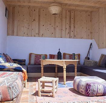 Cozy terrace at Imsouane